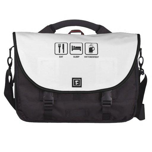 Eat Sleep Oktoberfest Laptop Computer Bag