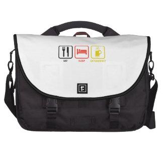 Eat Sleep Oktoberfest Laptop Bags