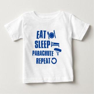 Eat sleep Parachute Baby T-Shirt