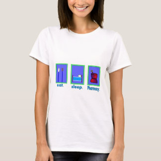 Eat Sleep Pharmacy  Pharmacist Gifts T-Shirt