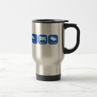 Eat Sleep Pitcairn Islands Stainless Steel Travel Mug