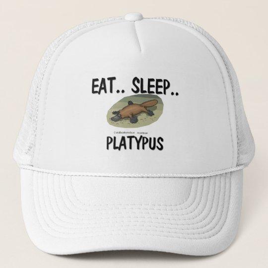 Eat Sleep PLATYPUS Cap