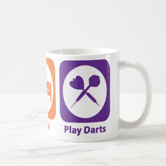 Eat Sleep Play Darts Coffee Mug