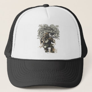 Eat, Sleep, Play Paintball Trucker Hat