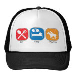 Eat Sleep Play Polo Mesh Hats