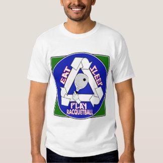 Eat Sleep Play Racquet Ball T Shirt