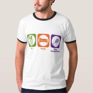 Eat Sleep Play Racquetball T-Shirt
