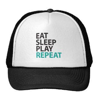 EAT SLEEP PLAY REPEAT CAP