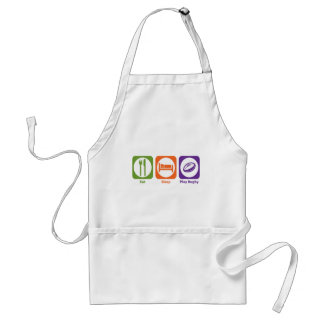 Eat Sleep Play Rugby Standard Apron