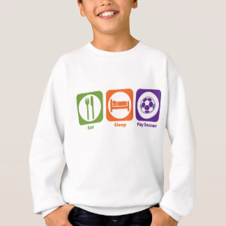 Eat Sleep Play Soccer Sweatshirt