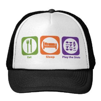 Eat Sleep Play the Slots Trucker Hat