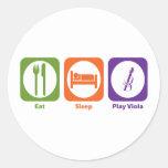 Eat Sleep Play Viola Sticker