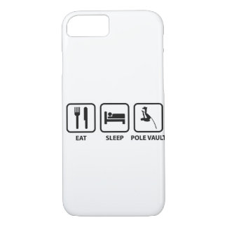 Eat Sleep Pole Vault iPhone 7 Case