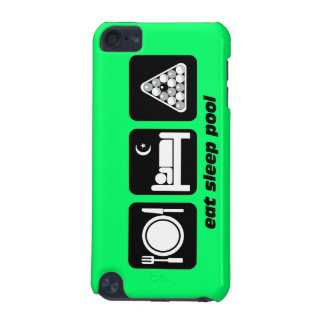 eat sleep pool iPod touch (5th generation) case