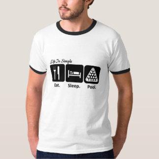 Eat, Sleep, Pool T-Shirt
