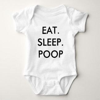 EAT SLEEP POOP BABY BODYSUIT