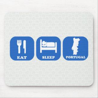 Eat Sleep Portugal Mouse Mat