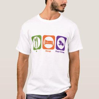 Eat Sleep Pour Cement T-Shirt