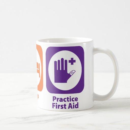 Eat Sleep Practice First Aid Coffee Mug