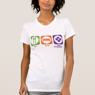 Eat Sleep Practice Veterinary Medicine T-Shirt