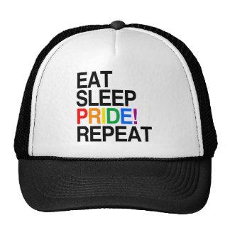 Eat Sleep Pride Repeat Cap