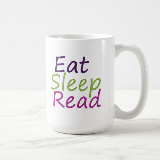 Eat Sleep Read Coffee Mug
