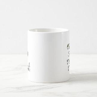 Eat, Sleep, Read, Repeat Basic White Mug