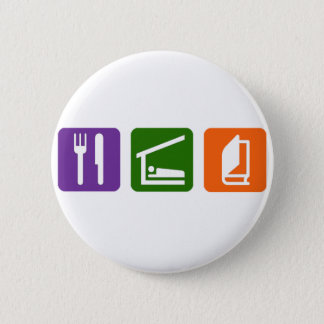 Eat Sleep Reading 2 6 Cm Round Badge