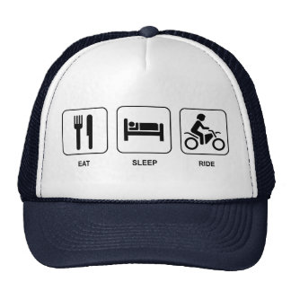 Eat Sleep Ride Cap
