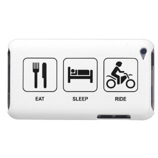 Eat Sleep Ride Barely There iPod Cover