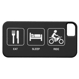 Eat Sleep Ride Case For The iPhone 5