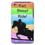Eat! Sleep! Ride! Equestrian iPod Case-Mate Case