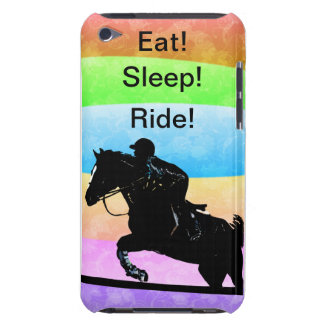 Eat! Sleep! Ride! Equestrian iPod Case-Mate Case