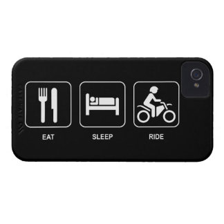 Eat Sleep Ride iPhone 4 Case-Mate Cases