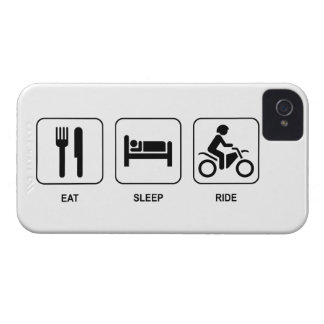 Eat Sleep Ride iPhone 4 Cases