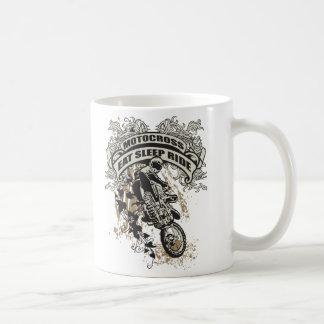 Eat, Sleep, Ride Motocross Basic White Mug
