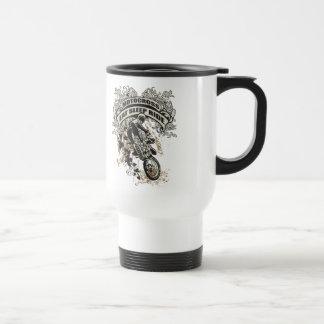 Eat, Sleep, Ride Motocross Stainless Steel Travel Mug
