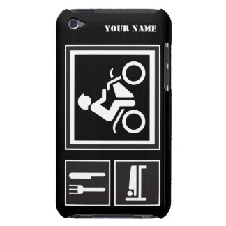 Eat Sleep RIDE Motorbike iPod Touch Case-Mate Case