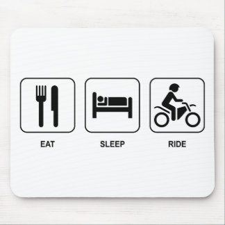 Eat Sleep Ride Mouse Mat