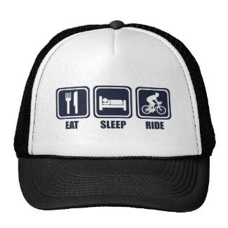 Eat Sleep Ride Repeat T Shirt Cap