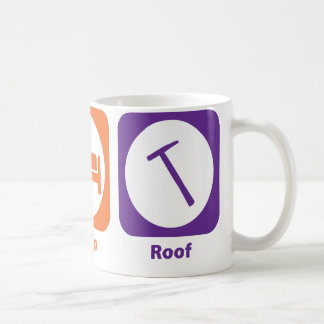 Eat Sleep Roof Coffee Mug