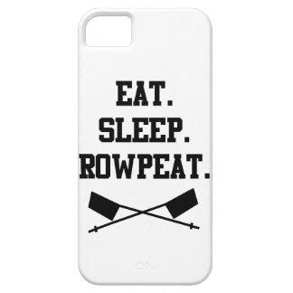 Eat. Sleep. Rowpeat iPhone 5 Cases