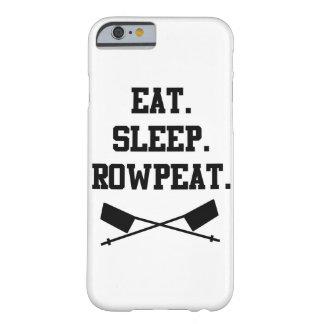 Eat. Sleep. Rowpeat iPhone 6 Case