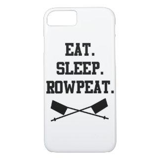 Eat. Sleep. Rowpeat iPhone 7 Case