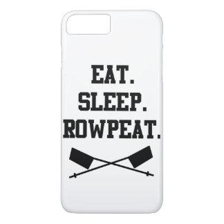 Eat. Sleep. Rowpeat iPhone 7 Plus Case