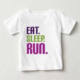 eat sleep run t shirts and tees