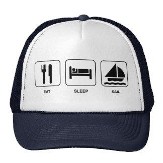 Eat Sleep Sail Cap