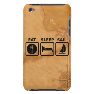 Eat Sleep Sail Barely There iPod Cases