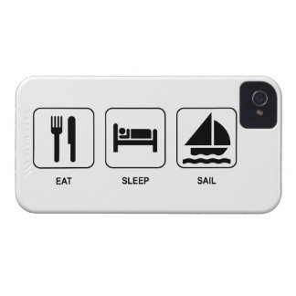 Eat Sleep Sail iPhone 4 Case-Mate Cases