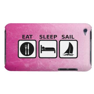 Eat Sleep Sail iPod Case-Mate Case